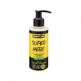 Gel pentru curatare faciala cu ph scazut si proteine din grau, super hero,...