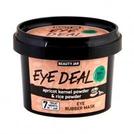 Masca alginata pentru ochi cu pudra din sambure de caisa, eye deal, beauty jar,...