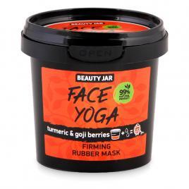 Masca faciala alginata pentru fermitate, cu turmeric si goji, face yoga, beauty...
