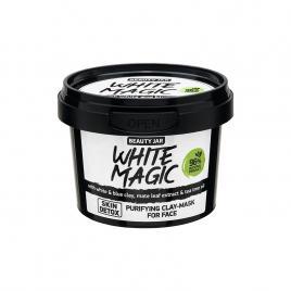 Masca faciala purifianta cu argila alba si albastra, white magic, beauty jar,...