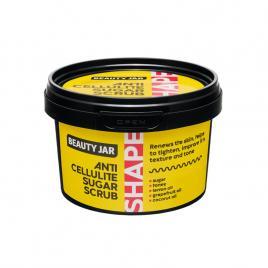 Scrub anticelulitic cu zahar si miere, shape line, beauty jar, 250g