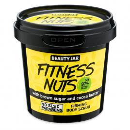 Scrub pentru fermitatea corpului, cu zahar brun si unt de cacao, fitness nuts,...