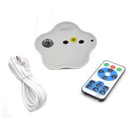 Lampa proiector cu telecomanda andowl rg90, lumini rgb