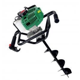 Motoburghiu Verk VGD-5200A, 4.5 CP, 52 cmc, 6500 rpm, 2 timpi, burghie 100, 150, 200 mm