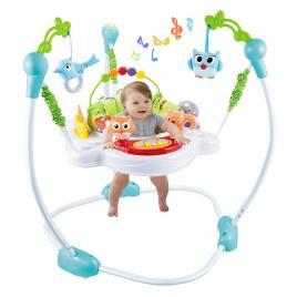 Saritor pentru copii cu centru activitati Jungle Baby