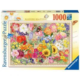 Puzzle flori ravensburger 1000 piese
