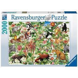 Puzzle jungla ravensburger 2000 piese