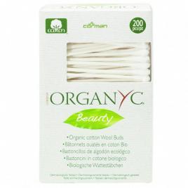 Betisoare cu bumbac organic organyc 200 buc