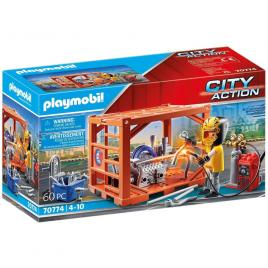 Playmobil city action - fabricant de containere
