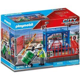 Playmobil city action - spatiu depozitare marfa