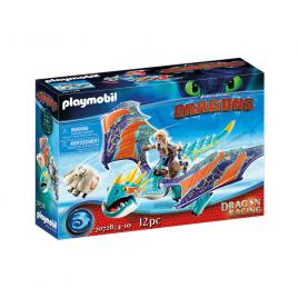 Playmobil dragons cursa dragonilor: astrid si stormfly