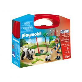 Set portabil city life - ursuleti panda