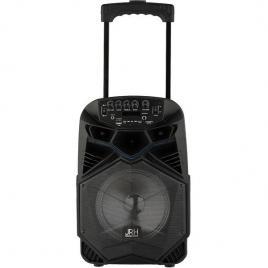 Boxa portabila tip troler jrh a85 cu bluetooth si microfon wireless
