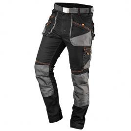 Pantaloni de lucru hd slim nr.xxxl/58 neo tools 81-238-xxxl