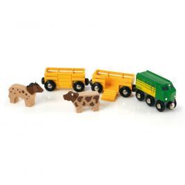 Trenul de la ferma brio