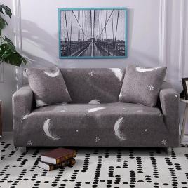 Husa elastica pentru fotoliu-canapea-triunghiuri
