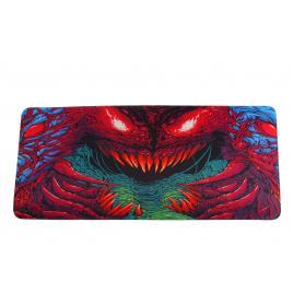 Mousepad profesional pentru jucatori, dragon, colorat, 90x40cm, desen B