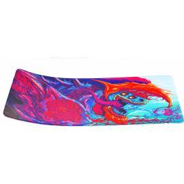 Mousepad profesional pentru jucatori colorat 90x40cm desen J