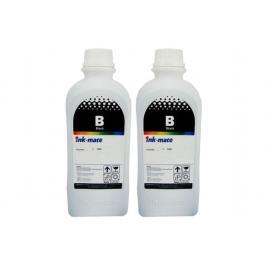 Pachet flacon cerneala ink-mate compatibil hp (gt53xl) 2x1000ml 1vv21ae negru
