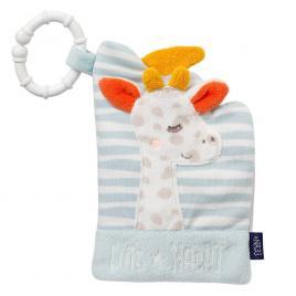 Carticica din plus pentru bebelusi - girafa somnoroasa