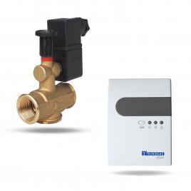 Set detector gaz + electrovalva 3/4' Tecnogas