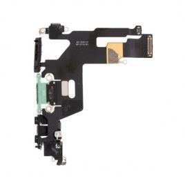 Banda flex cu conector incarcare si microfon iphone 11 verde