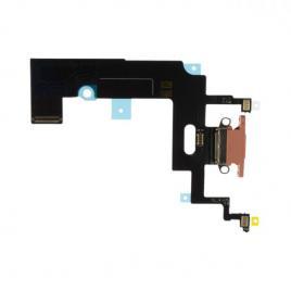 Banda flex cu conector incarcare si microfon iphone xr coral