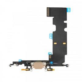 Banda flex iphone 8 plus cu conector incarcare si microfon aurie