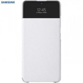 Husa de protectie samsung smart s view wallet cover pentru a32, white
