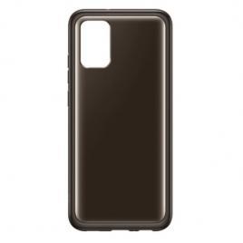 Husa de protectie samsung soft clear cover pentru a02s, black