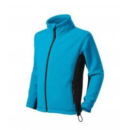 Jacheta fleece frosty copii turcoaz - 146 cm/10 ani
