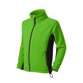 Jacheta fleece frosty copii verde măr - 122 cm/6 ani