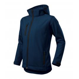Jacheta performance softshell copii albastru marin - 122 cm/6 ani