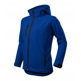 Jacheta performance softshell copii albastru regal - 122 cm/6 ani