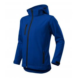 Jacheta performance softshell copii albastru regal - 158 cm/12 ani