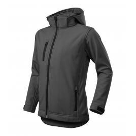 Jacheta performance softshell copii gri metalic - 134 cm/8 ani