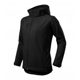 Jacheta performance softshell copii negru - 122 cm/6 ani