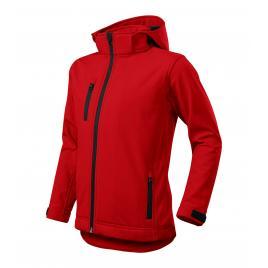 Jacheta performance softshell copii roşu - 134 cm/8 ani