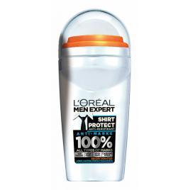 L`oreal paris men expert shirt protect 48h anti-perspirant roll-on deodorant...
