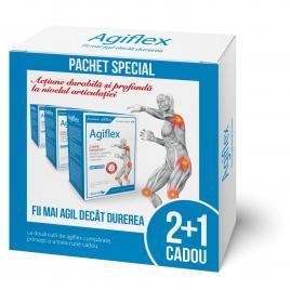 Agiflex cu Chondractiv 3x40 capsule pachet 2+1 cadou