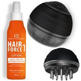 Pachet Promo Perie pentru masaj scalp + Lotiune Hair Force One anticadere, crestere par, Institut Claude Bell