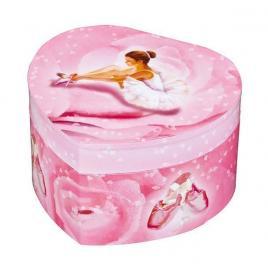 Cutie muzicala inimioara roz