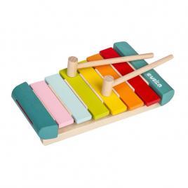 Jucarie din lemn cubika xilofon
