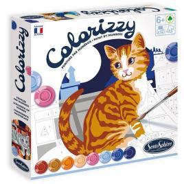 Pictura pe numere colorizzy - pisici