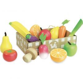 Set fructe si legume din lemn vilac