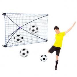 Poarta de fotbal pliabila rebound cu unghi ajustabil ods2055 net playz
