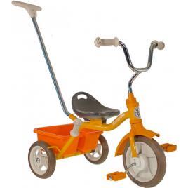 Tricicleta copii passenger road galbena