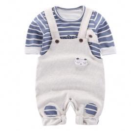 Salopeta cu bluzita pentru bebelusi (marime disponibila: 9-12 luni (marimea 20...