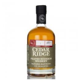 Cedar ridge peated bourbon, whisky 0.7l