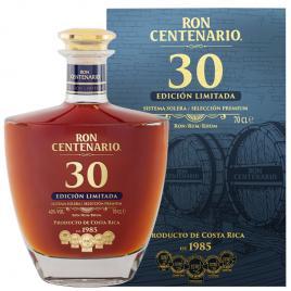 Centenario 30yo edicion limitada, rom 0.7l